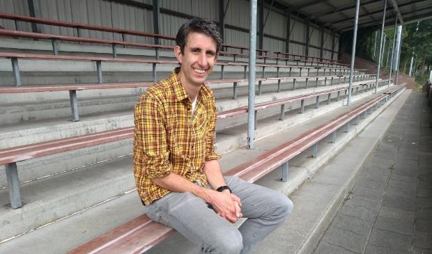 David Romijn heeft grote ambities met zijn team, dames 1 van Saestum.