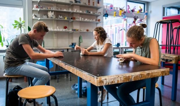 Leerlingen van Lyceum Oudehoven