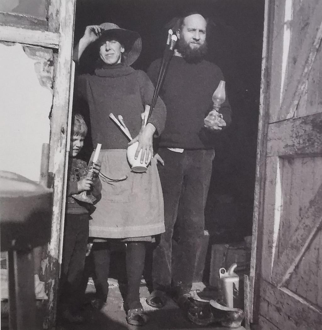 Mede-oprichtster Emmy Eerdmans met haar man Ben Joosten. Privé © BDU media