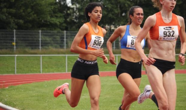 Celine van Heerikhuize (op archieffoto) won 2 medailles op NK Junioren.