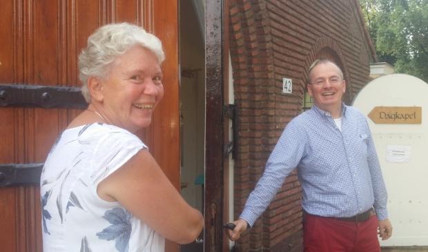 <p>Ellen Kieviet en Harold Oechies hebben zin in de week van de Duurzaamheid </p>