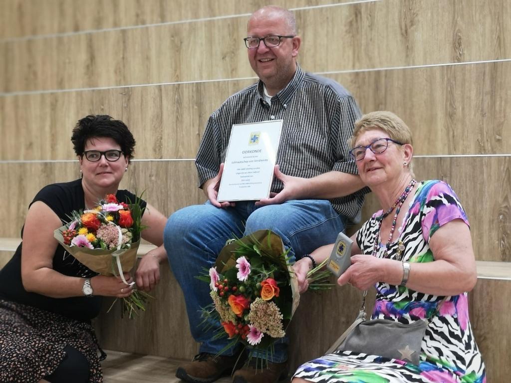 Drie jubilarissen Karin Barten © BDU media