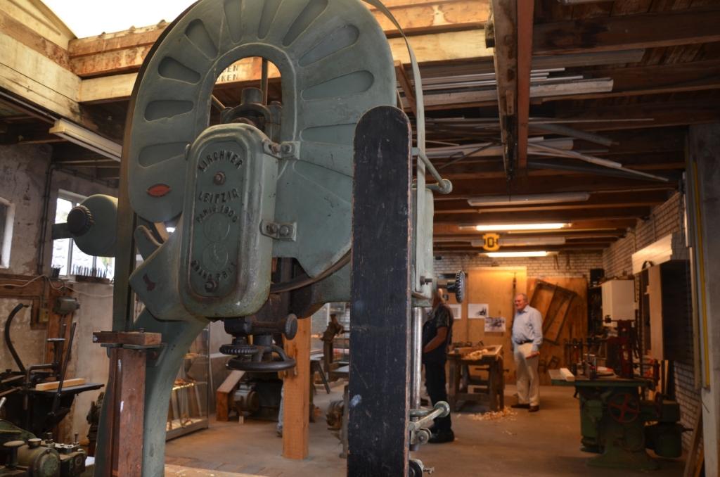 De werkplaats van de Gebrs. Van der Wielen in Cothen Ali van Vemde © BDU media