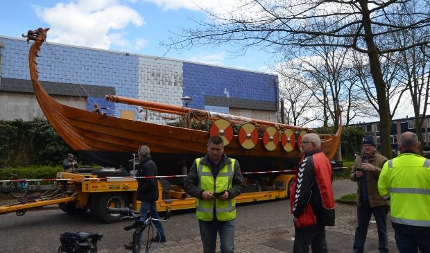 In april heeft het Vikingschip de Vikinghal verlaten.