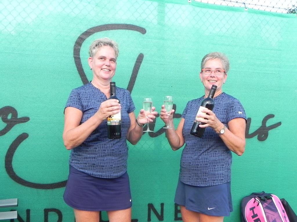 Jacqueline en Jolanda van Lunsen wisten zich wederom in de prijzen te spelen.   © BDU media