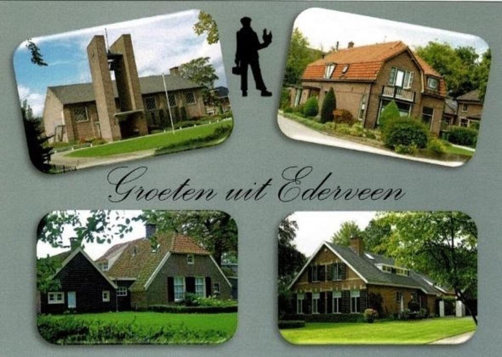 Eigentijdse Ederveense gebouwen. Vereniging Oud Ederveen © BDU media