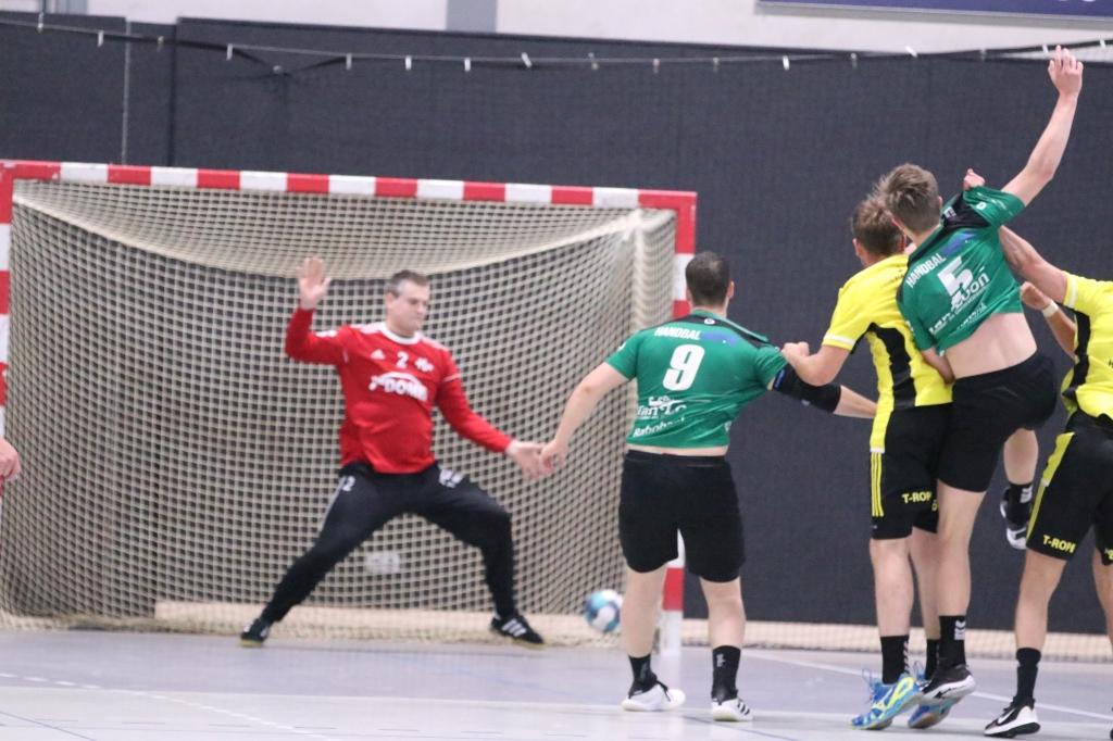 Handbal Houten - Red Rag Tachos Hanna Koops © BDU media