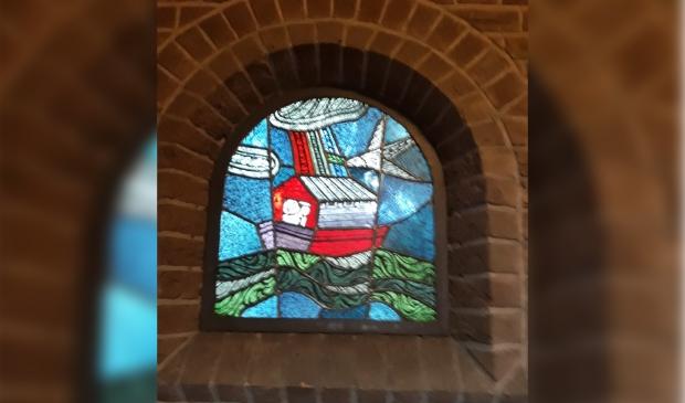 De ark van noach in de Barbarakerk Bunnik