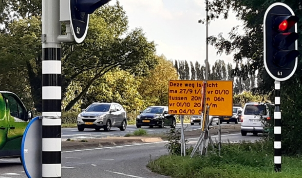 Maandag 27 september om 20 uur wordt N229 afgezet voor verkeer