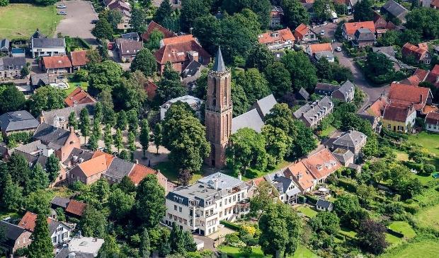 <p>De Andrieskerk, monument in hart van het dorp.</p>