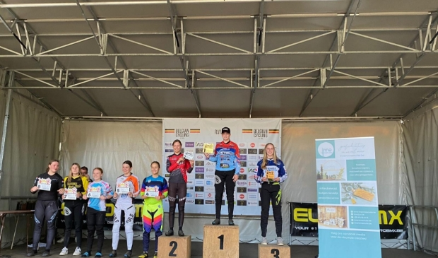 Celia  Zaterdag 3e podium - 3-Nations UCI