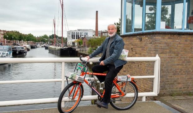 <p>Joop de Keijzer columnist van De Stad Amersfoort, brugwachter en havenmeester</p>