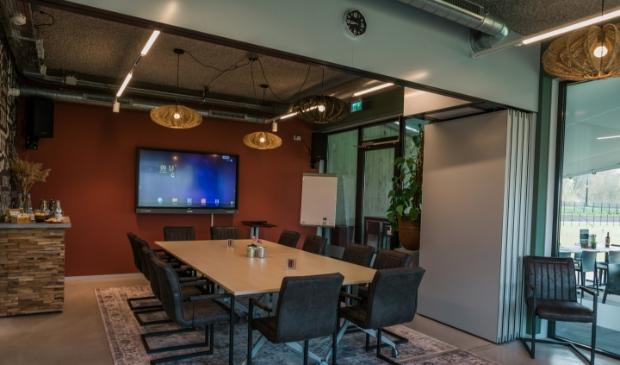 <p>Grebbelounge bij Fort aan de Buursteeg heeft nu ook diverse ruimten voor grotere gezelschappen en &#39;Vergaderen in het Groen&#39;. </p>