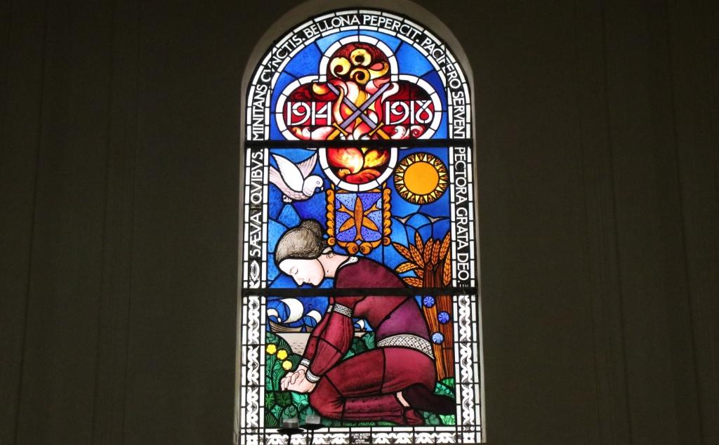 Glas in Lood in de Agathakerk wijnand burger © BDU Media