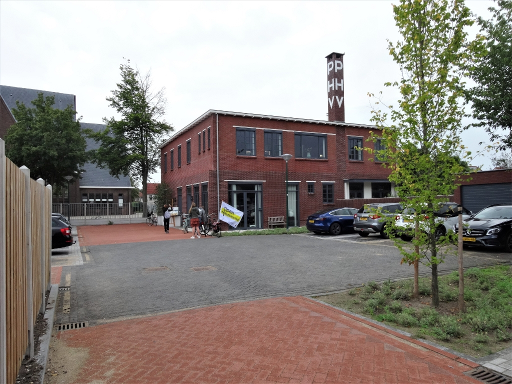 PHV-terrein aan de Vijgendam. Na renovatie is het gebouw onlangs opgeleverd door bouwbedrijf Kudo. Pieter Vane © BDU Media