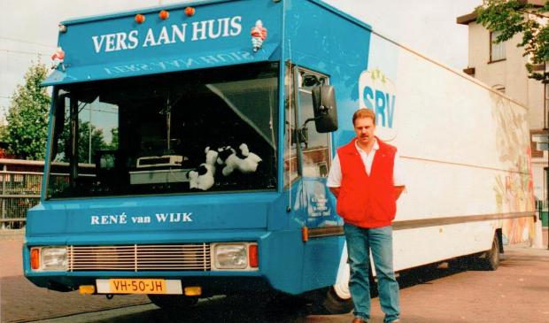 René van Wijn vijfentwintig jaar geleden.
