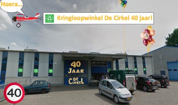 Het pand van de Kringloop aan de Nijverheidsweg 101B