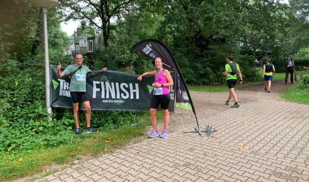 Road Runners Erik en Lisette met medaille