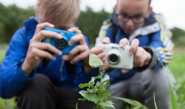 Workshop natuurfotografie voor kinderen