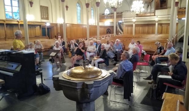 Eindelijk weer zingen in de Pauluskerk