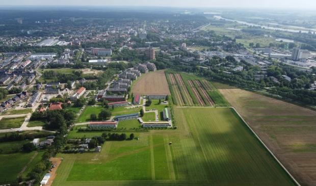 <p>Het zonnepark komt tussen de Haarweg en de Lawickse Allee in Wageningen. Het is het eerste zonnepark in Wageningen. </p>