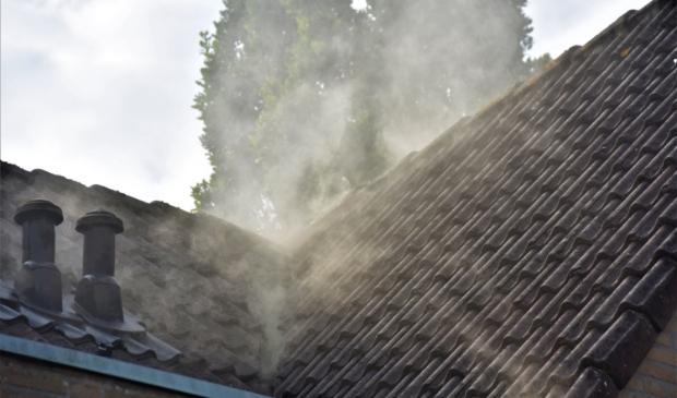 <p>De omvang van de brand was beperkt, er was vooral veel rook.</p>