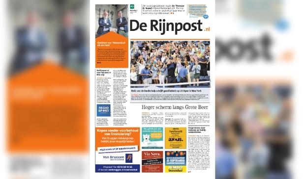 <p>De eerste editie van De Rijnpost bij BDUmedia. </p>