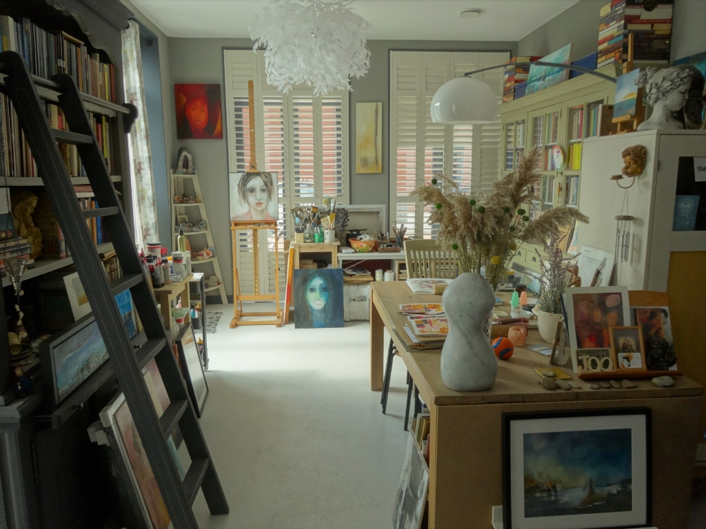 Atelier van Joo-expo in het gerenoveerde pand aan de Vijgendam. Pieter Vane © BDU Media