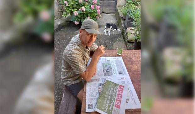 Martijn Koning gaat lopend onderweg vanuit Frankrijk naar Bilthoven en start op Wereld Alzheimer Dag