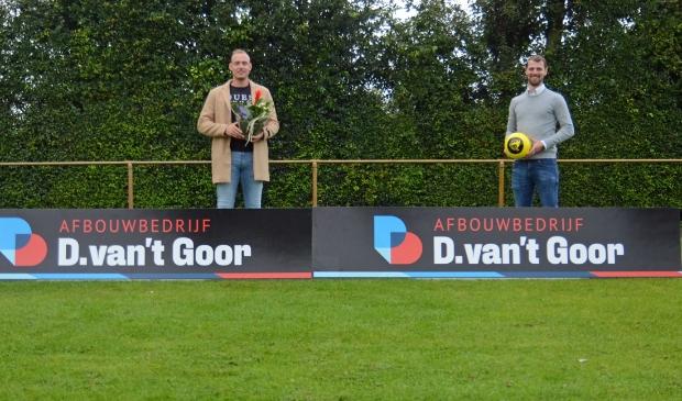 Danny van 't Goor (l) en Sjoerd Kwakkel