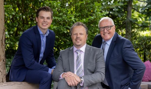 Dunweg werd het familiebedrijf van de familie van der Pijl. V.l.n.r: Denzel, Alexander en Wim van der Pijl.