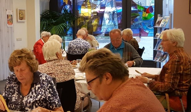 samen eten bij Ons Eetcafé in Leersum