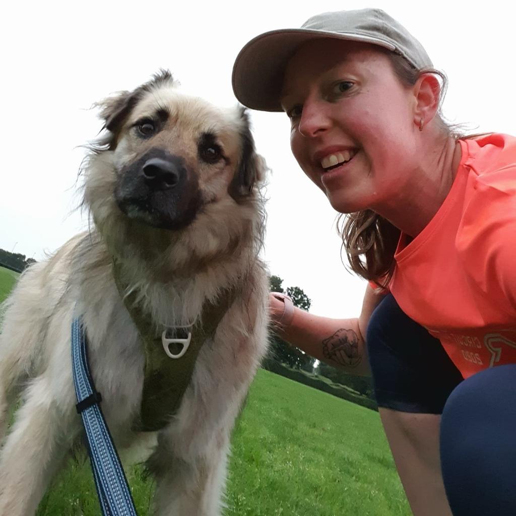5 km hardlopen is een stuk gezelliger als je het met z'n tweetjes doet! Sanne Huyser © BDU media