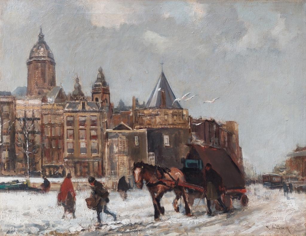 Winter Prins Hendrikkade Amsterdam B. Kleinmeijer © BDU Media