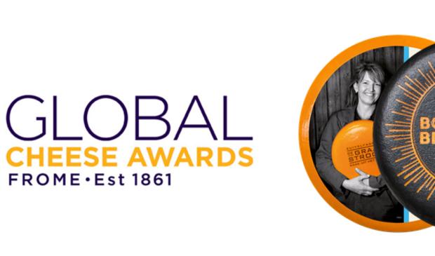 <p>Logo awards en twee kazen</p>