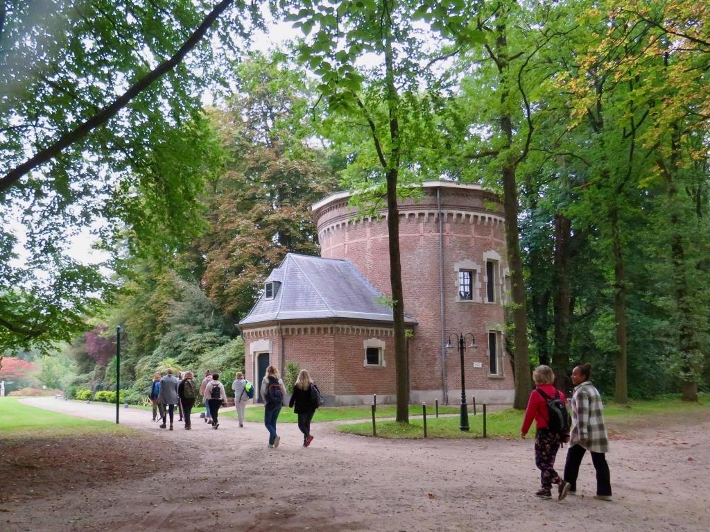 Langs de voormalige watertoren op weg naar de uitgang Onno Wijchers © BDU media