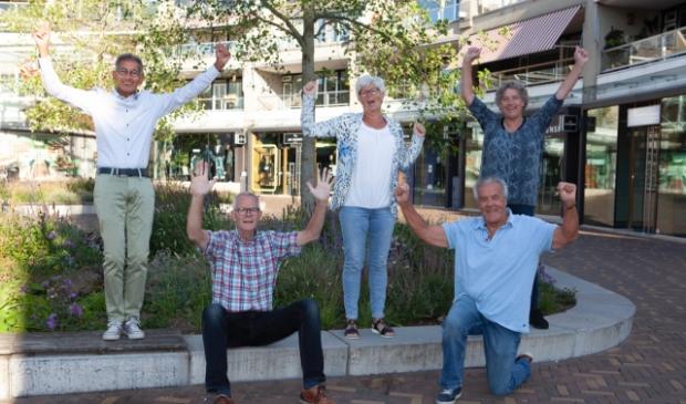 <p>Het enthousiaste team van Veenendaal4Fair</p>