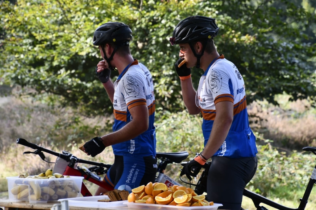 Extra vitaminen voor de deelnemers Brenda Slagter © BDU