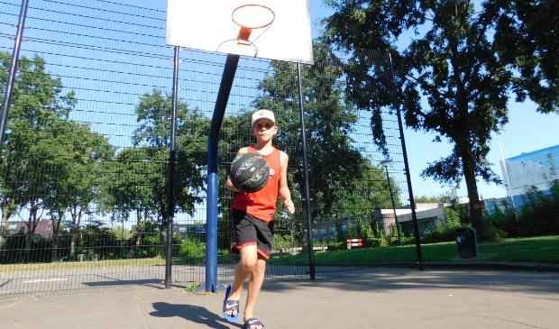 Basketbalende zoon Tim  Quartel