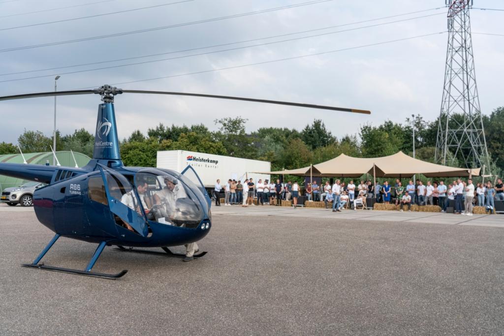 Helicopter tour over Regio Foodvalley Sander Drooglever © BDU Media