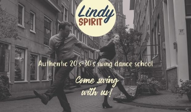 Foto van dansende Lindy Hoppers
