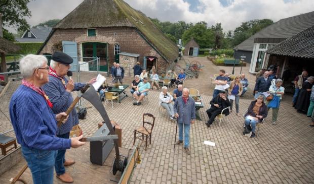 <p>Tijdens de recente Open Monumentendag hield het Boerderijmuseum een Erfhuis.</p>
