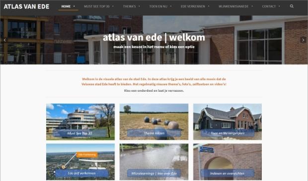 Startpagina van Atlas van Ede