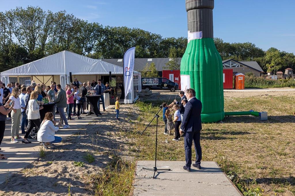 start bouwfeest DR realisatie in Gorinchem Gemeente Gorinchem © BDU Media
