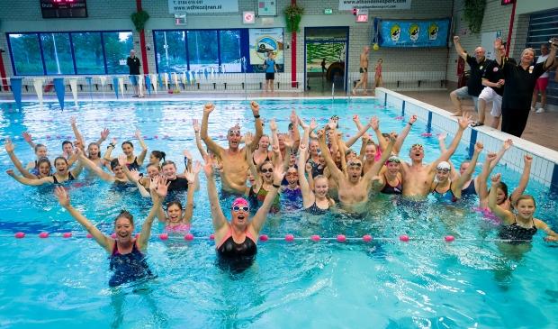 Start zwemvierdaagse, Maarten van der Weijden