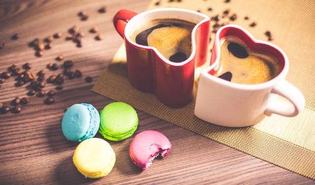nieuwe mensen ontmoeten tijdens een kopje koffie?