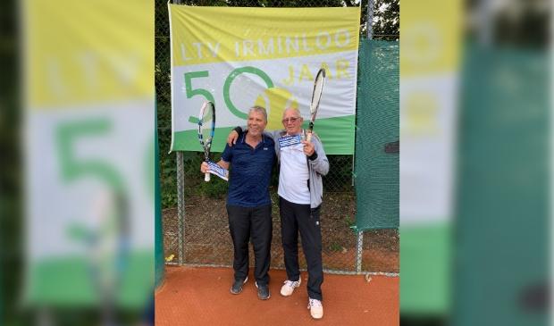 Kok de Bruijn (Nieuwveen) en Lou Beelen (Lisse) winnen bij Irminloo