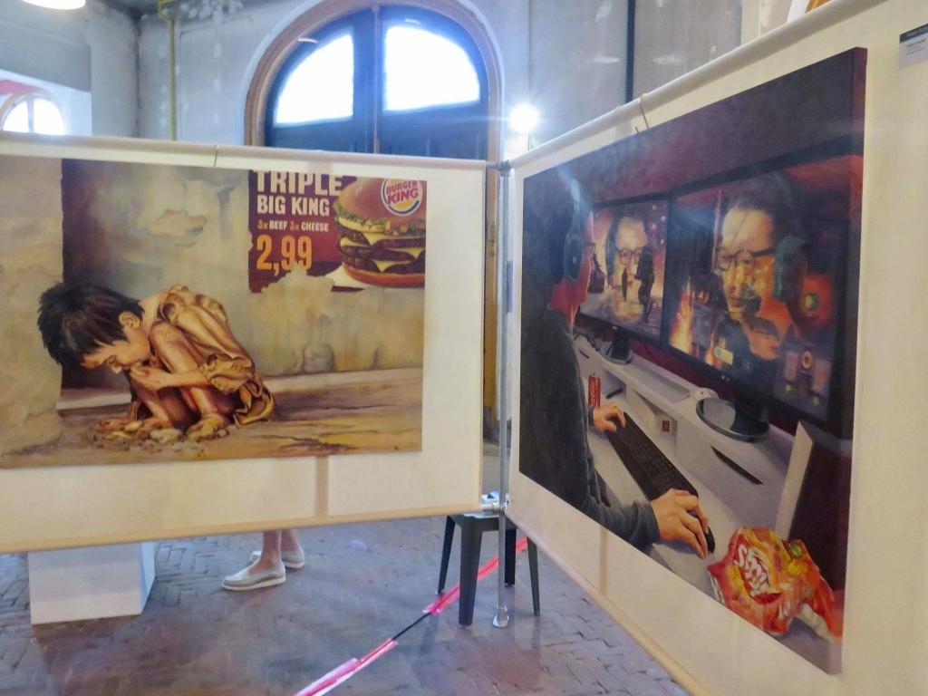 Confronterende en herkenbare kunstwerken Onno Wijchers © BDU media
