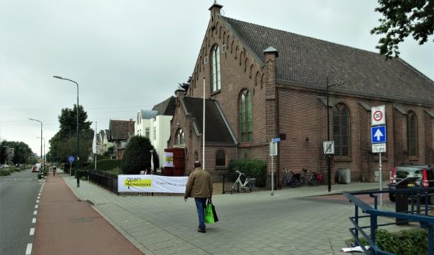 <p>De Brugkerk was een van de kerken die de deuren voor bezoekers opende.</p>