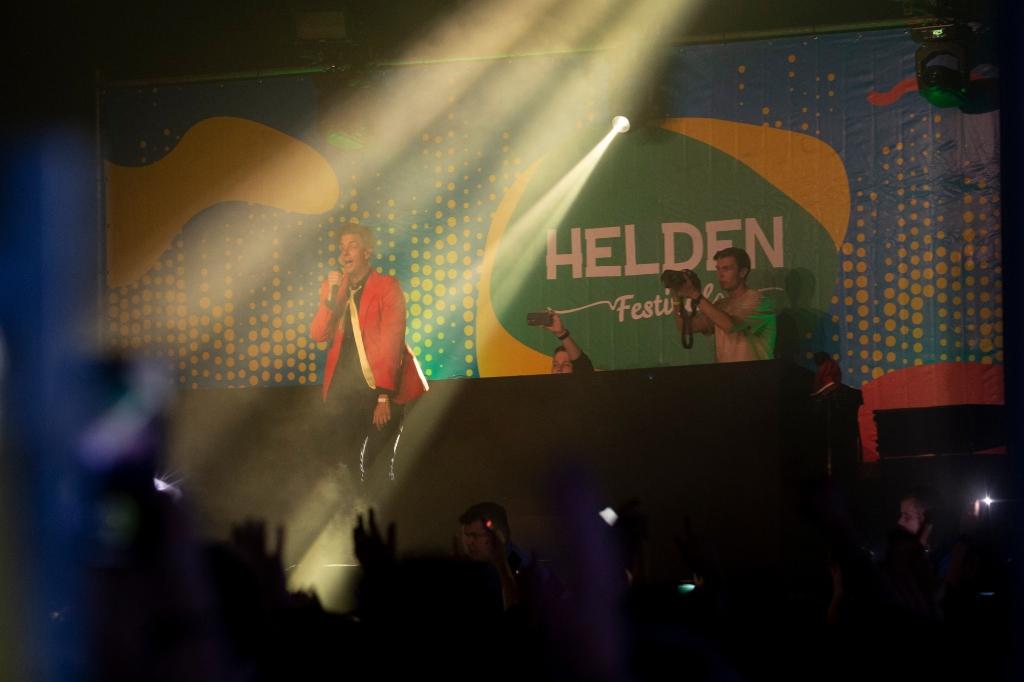 Snollebollekes met zanger Rob kemps. Erik van't Land © BDU media